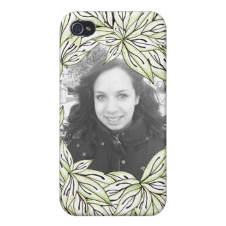 Leaf Frame iPhone 4/4S Cover