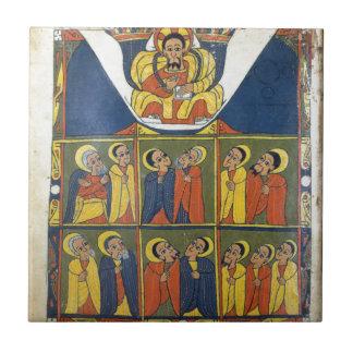 Leaf from Gunda Gunde Gospels Ceramic Tile