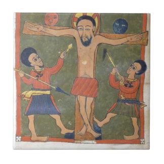 Leaf from Gunda Gunde Gospels Tile