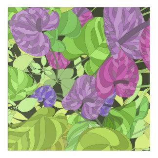 Leaf Garden 2 Acrylic Wall Art
