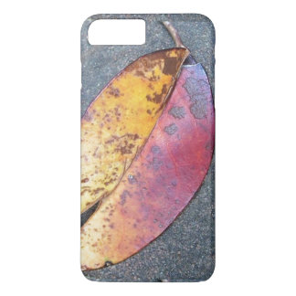 Leaf in autumn iPhone 7 plus case