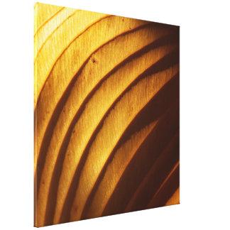 Leaf in Golden Light Canvas Photo Print Canvas Prints