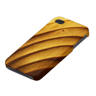 Leaf in Golden Light iPhone4 Savvy Case Cover For iPhone 4