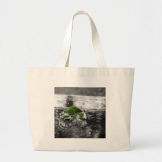 Leaf in Water Tote Bag