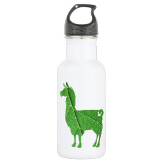 Leaf Llama Water Bottle