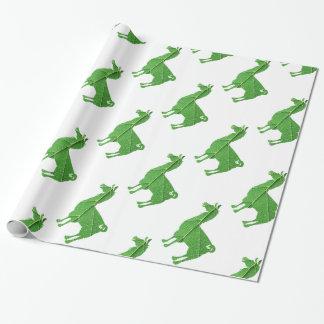 Leaf Llama Wrapping Paper