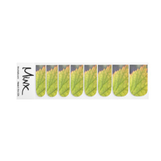 Leaf Minx Nail Art