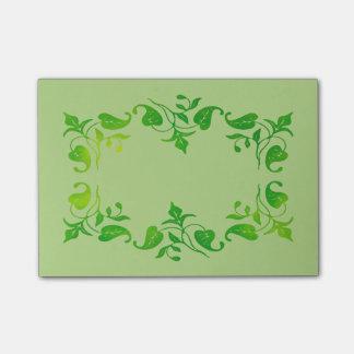 Leaf Monogram Customizable Post-it® Notes
