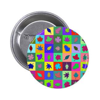 Leaf Mosaic Pins