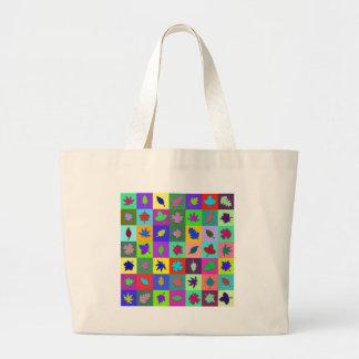 Leaf Mosaic Bags