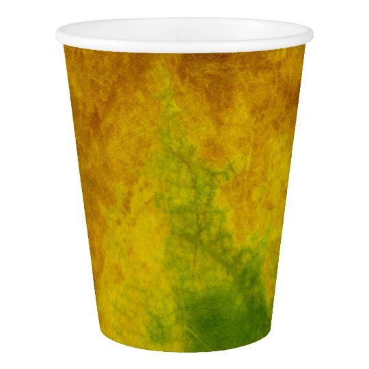 Leaf Nature Paper Cup