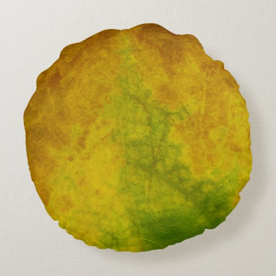 Leaf Nature Round Cushion