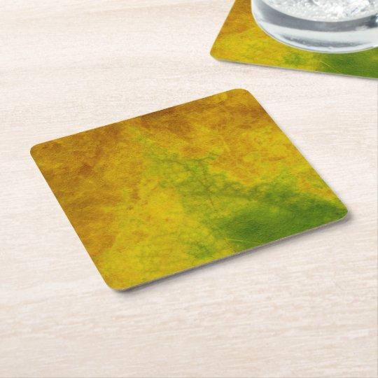 Leaf Nature Square Paper Coaster
