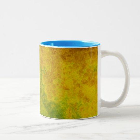 Leaf Nature Two-Tone Coffee Mug