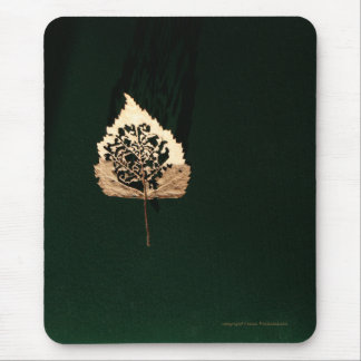 Leaf of Gold Mouse Pad