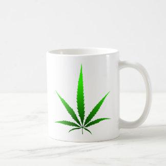 leaf of grass basic white mug