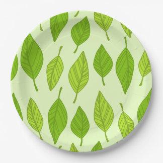 Leaf Paper Plates