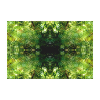 Leaf Pattern #1 Stretched Canvas Print