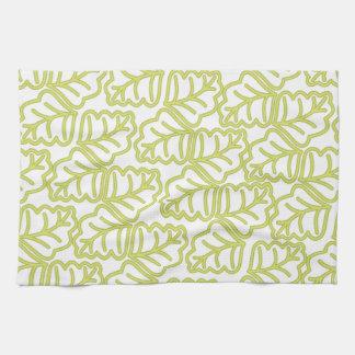 Leaf Pattern Kitchen Towel