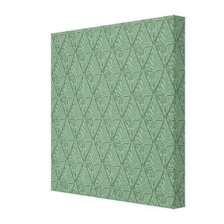 Leaf Pattern Stretched Canvas Prints