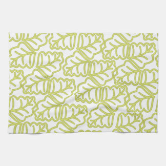 Leaf Pattern Tea Towel