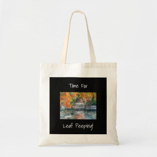 Leaf Peeping Tote Bag