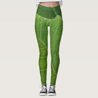 Leaf put-went leggings