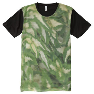Leaf Revolving All-Over Print T-Shirt