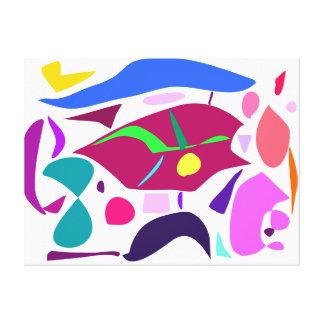 Leaf Stretched Canvas Print