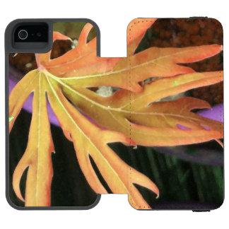 Leaf Study 2 Incipio Watson™ iPhone 5 Wallet Case