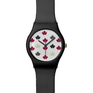 Leaf style watch