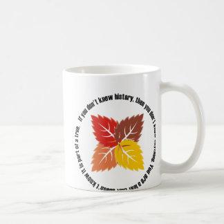 Leaf That Doesn't Know Coffee Mug