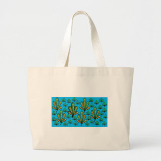 leaf canvas bag