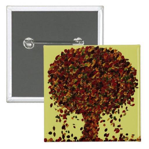 Leaf Tree Pin