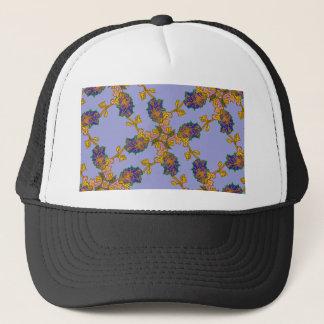 leafprintbv, geometric, leaf, leaves, design, trucker hat