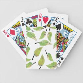leafs fresh design poker deck