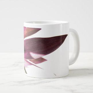 leafs large coffee mug