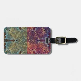 Leafy Gal Luggage Tag