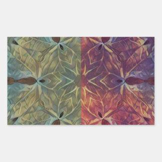 Leafy Gal Rectangular Sticker