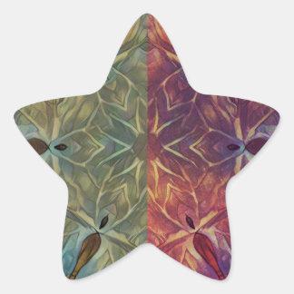 Leafy Gal Star Sticker