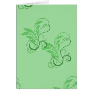 Leafy Glade Card