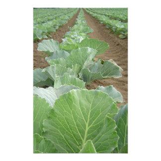 Leafy Greens, Farming Personalized Stationery