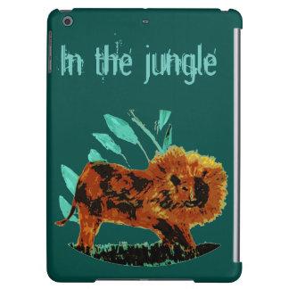 Leafy Lion Wild Animal illustration
