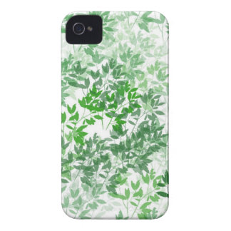 Leafy Pattern Design iPhone 4 Cover