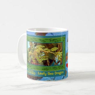 Leafy Sea Dragon, threatened, and here's a  - - Coffee Mug