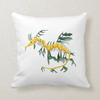 Leafy Sea Dragon Throw Cushions