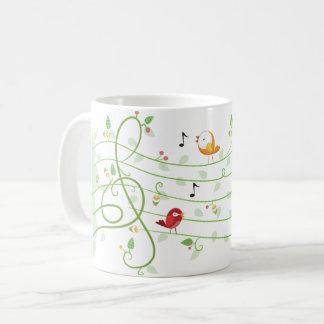 Leafy Staff Line Mug