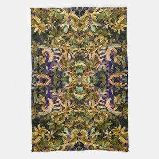 Leafy Tapestry Hand Towel