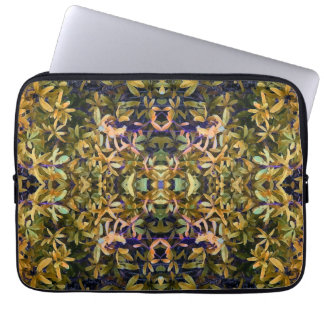 Leafy Tapestry Laptop Sleeve