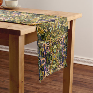 Leafy Tapestry Short Table Runner